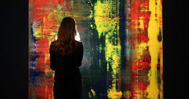 'Abstraktes Bild', la obra más cara de un artista vivo | Cultura | Entretenimiento