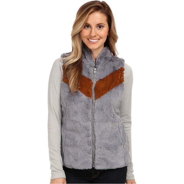 Patagonia Pelage Vest Women's Vest, Gray ($50) ❤ liked on Polyvore featuring outerwear, vests, grey, mens waistcoat, vest waistcoat, patagonia vest, pocket vest and grey vest