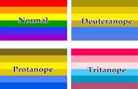 Resultado de imagen para daltonismo