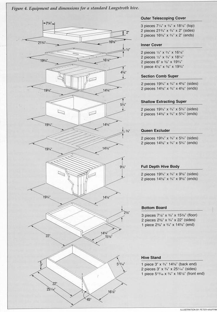 how to build bee boxes