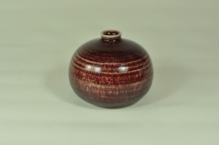 Oxblod-vase - small