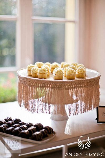 17. Platinum Gold Wedding, Sweet buffet / Platynowo złote wesele, Słodki bufet, Anioły Przyjęć