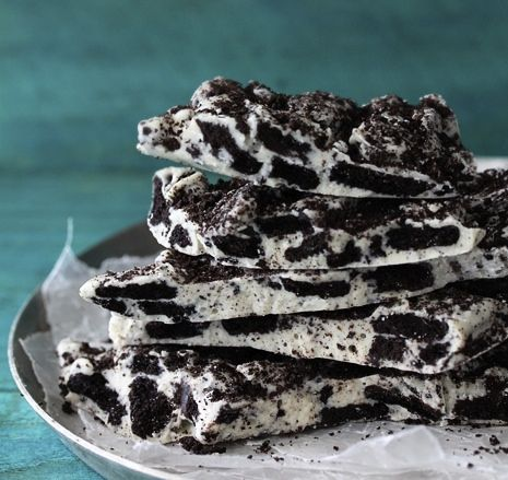 Cookies and Cream Oreo Bark Bakers Royale