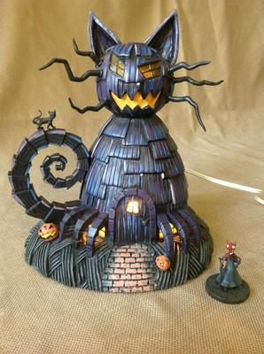 Hawthorne Disney Nightmare Before Christmas Cat House