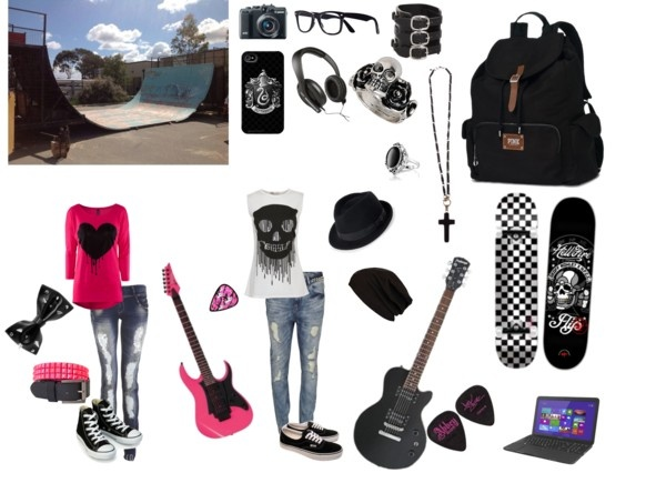 11 best images about punk skater clothing on Pinterest | Green Black and Skater outfits