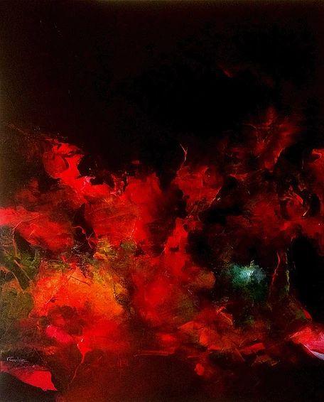 VERONIQUE COULON ARTISTE PEINTRE | Le feu