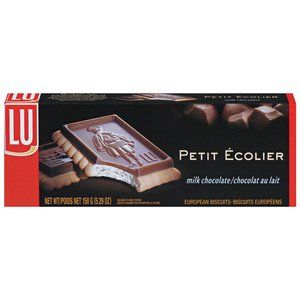 Lu Biscuits Petit Ecolier Milk Chocolate, 5.29 oz