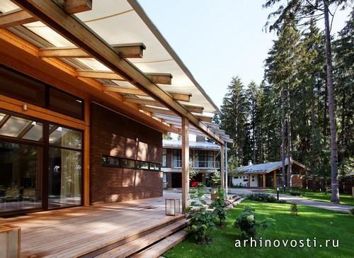 Индивидуальный жилой дом Woodlark house