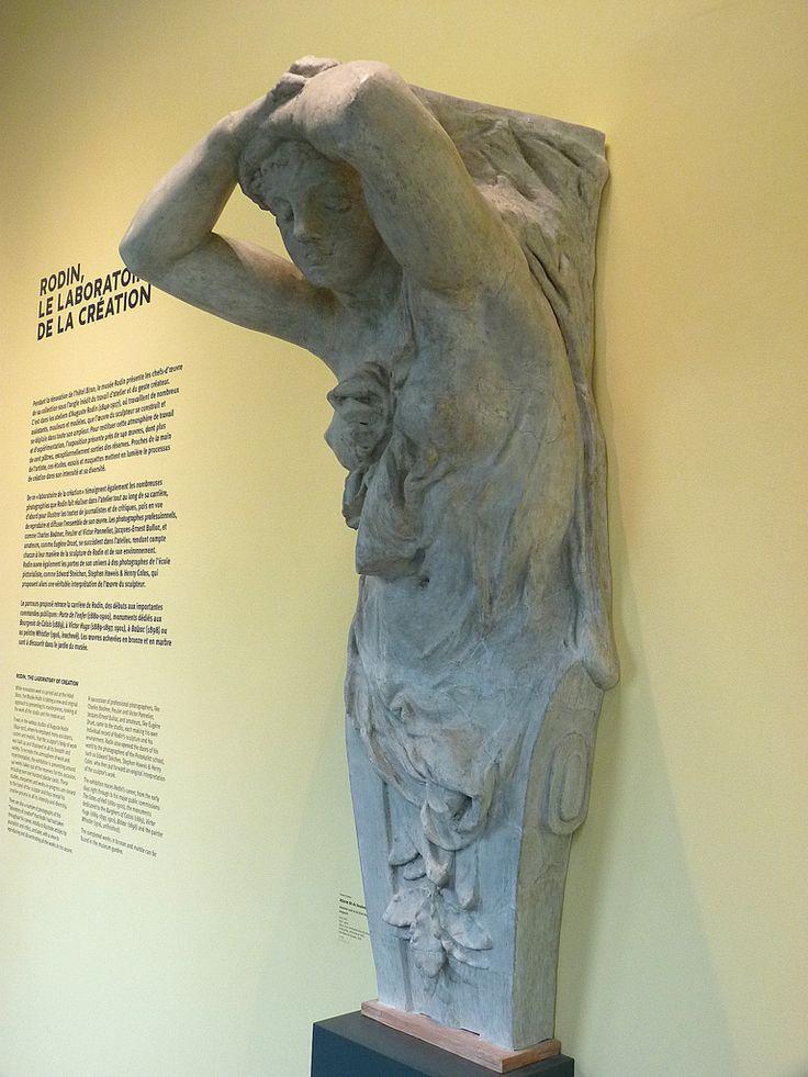 """RODIN Auguste,1874 - Atlante du Boulevard Anspach, Stuc (Musée Rodin) - 0  -  TAGS / art sculptor sculpteur details détail détails detalles sculpture sculptures """"sculpture 19e"""" """"19th-century sculptures"""" """"Rodin Museum"""" statue tête head face faces visage France """"French sculpture"""" """"French sculptors"""" """"naked woman"""" """"naked women"""" """"femme nue"""" """"nu feminin"""" """"nude female"""" bare naked nue sensuelle sensual erotism érotisme ParisAtalante """"jeune femme"""" """"young woman"""" """"young women"""" Cariatide caryatid"""