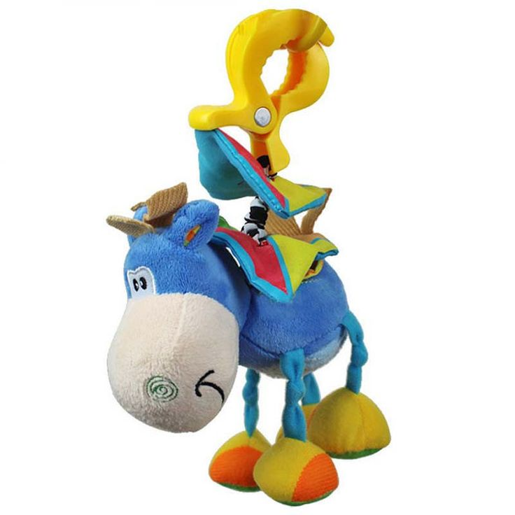 Check out the site: www.nadmart.com   http://www.nadmart.com/products/baby-donkey-plush-clip-rattles-toys-infant-educational-hanging-bell-band-clamp-animal-rattles-toys/   Price: $US $5.73 & FREE Shipping Worldwide!   #onlineshopping #nadmartonline #shopnow #shoponline #buynow