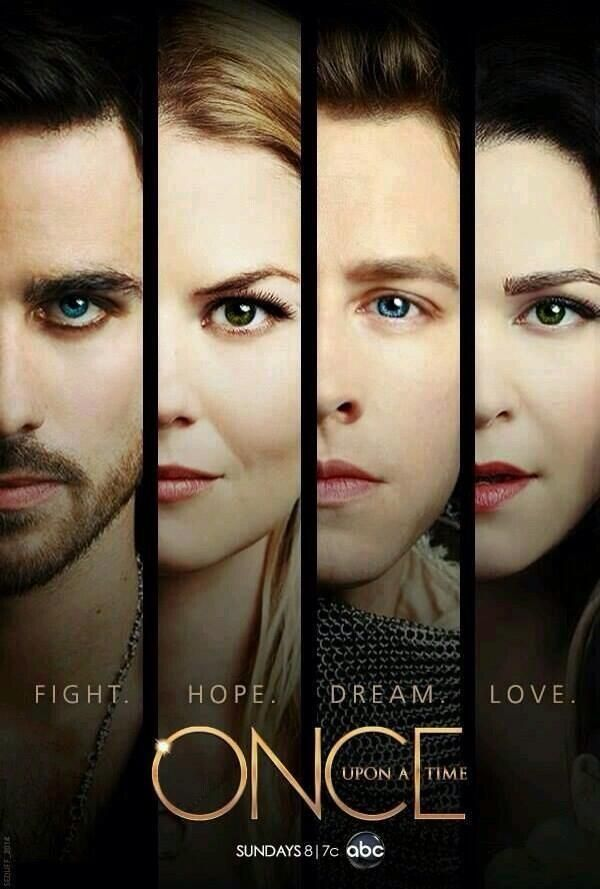 AHHH!!So behind! I have got to catch up on my favorite show! They finally have Hook❤ on a main poster! About time yes!