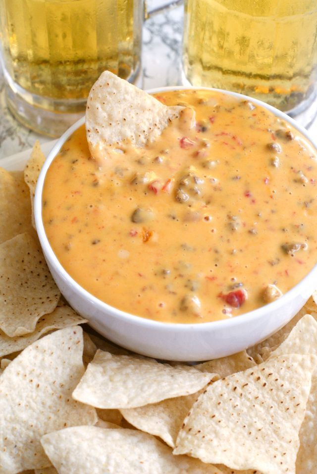 Cindee's Nacho Cheese Sausage Dip | thetwobiteclub.com