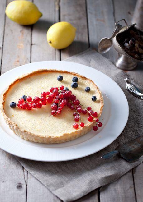 """Лимонно-медовый тарт из книги """"Пироговедение"""""""