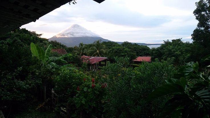 Ometepe Volcano. Photo: Philip Louis