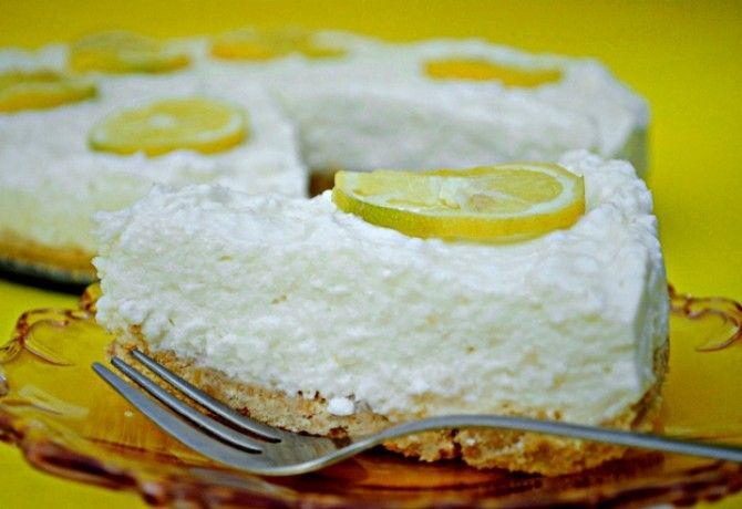 Sütés nélküli citromtorta