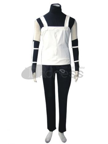Make you the same as Kakashi Hatake in this Naruto cospaly costume for cosplay show. It comes with a vest,trousers,gloves,arm cove