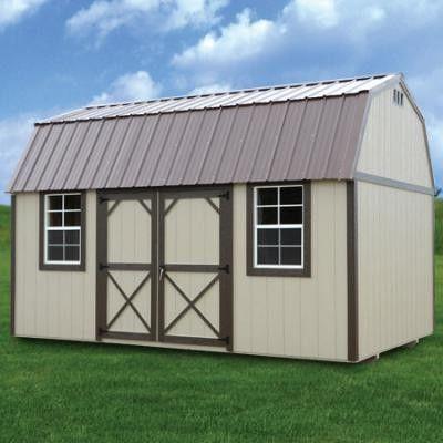 Derksen Painted Deluxe Lofted Barn Cabin In 2019 Lofted