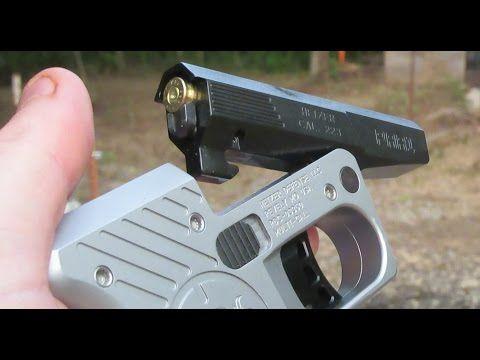 Single shot  187 homemade pistol
