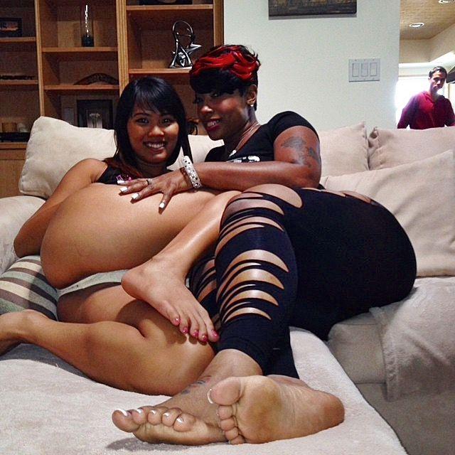 beautiful ebony feet