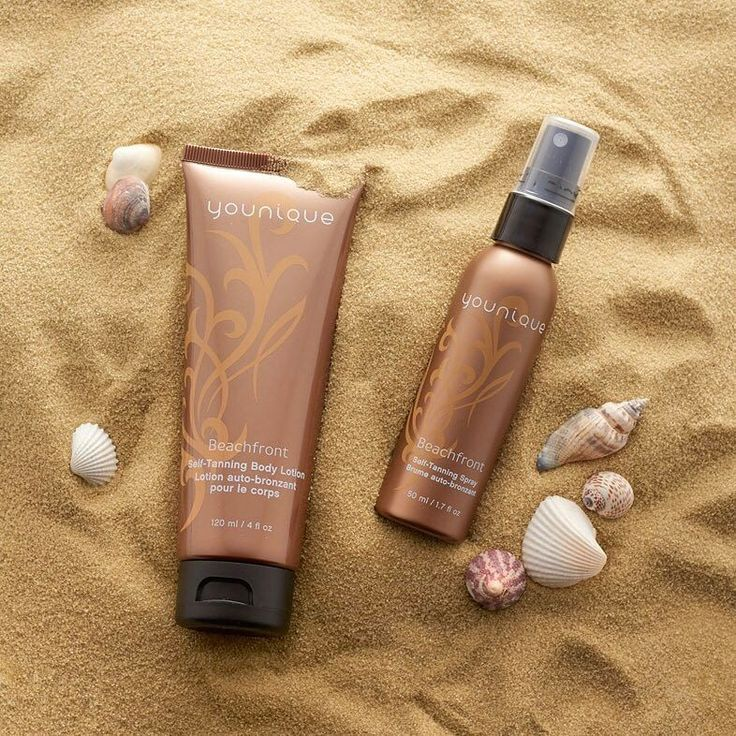 Why damage your skin when you can get an instant sun-kissed look with our Beachfront self-tanning products?  #Younique