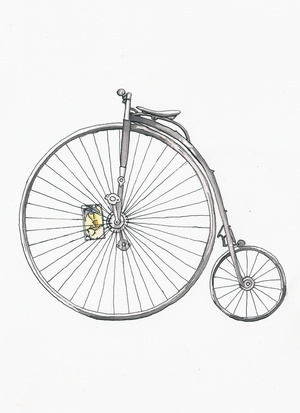 Tattoo inspiration... penny farthing