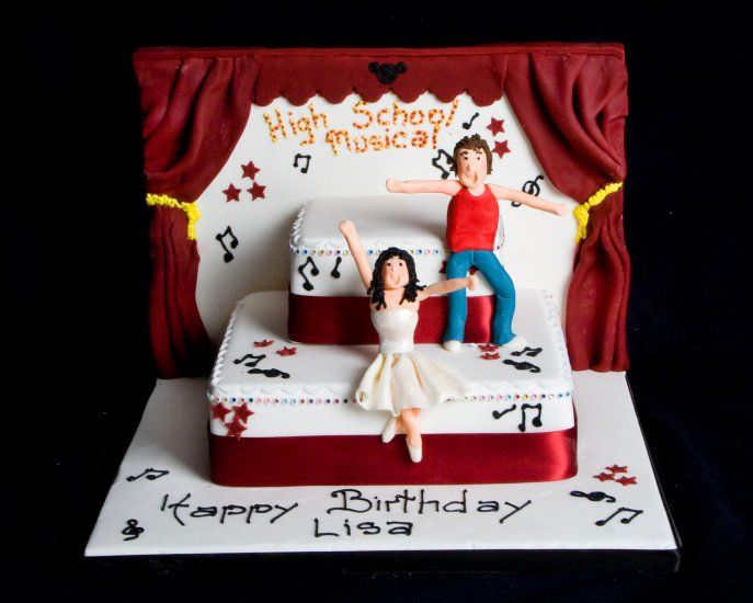 stage Cakes | High School Musical Stage : Wedding Cakes Scotland Glasgow Edinburgh