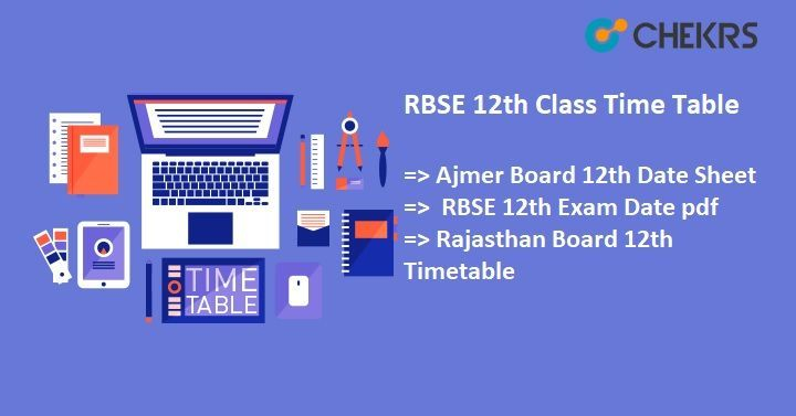 Pin By Chekrs Com On 12th Class Exams Details Exam Schedule Entrance Exam 10th Exam