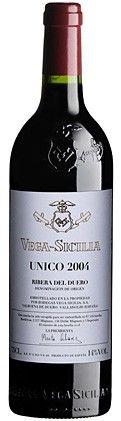 #vino tinto Vega Sicilia Único 2004 de Bodegas Vega Sicilia en Ribera del Duero, un clásico con etiquetas renovadas
