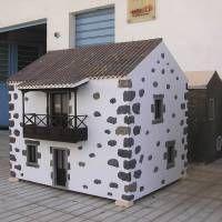Houseland Parque Temático. Vivienda tradicional Canaria.
