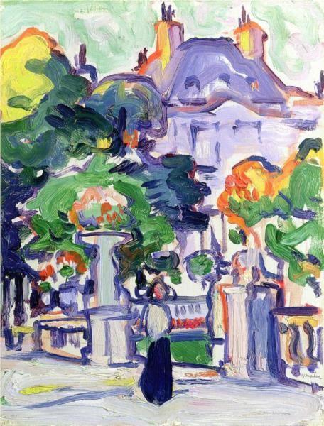 Luxembourg Gardens - Peploe Samuel