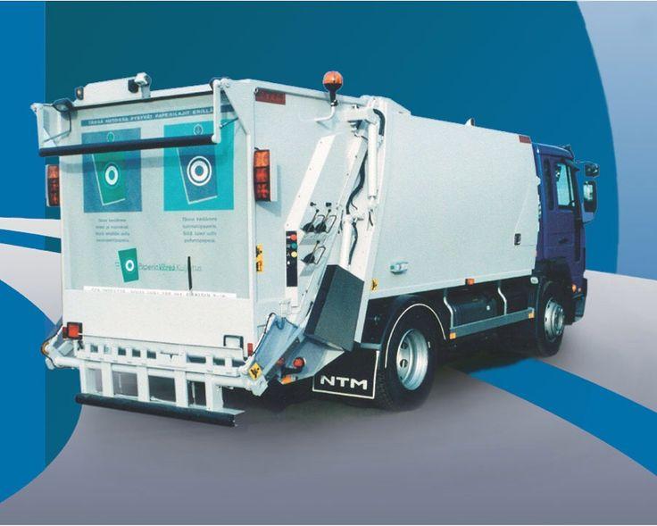 NTM K2K VOLVO Śmieciarki dwukomorowe do zbiòrki dwóch frakcji odpadów jednym pojazdem. Recycling Refuse truck, rear loader, garbage vehicles, Kommunalfahrzeuge, Benne a ordures, Recolectores, piccoli camion, Carico posteriore
