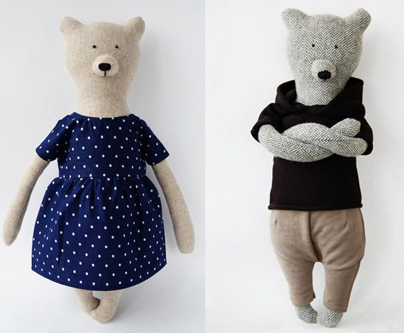 Philomena Kloss bears http://knuffelsalacarteblog.blogspot.nl/2015/03/what-do-you-bear-today.html