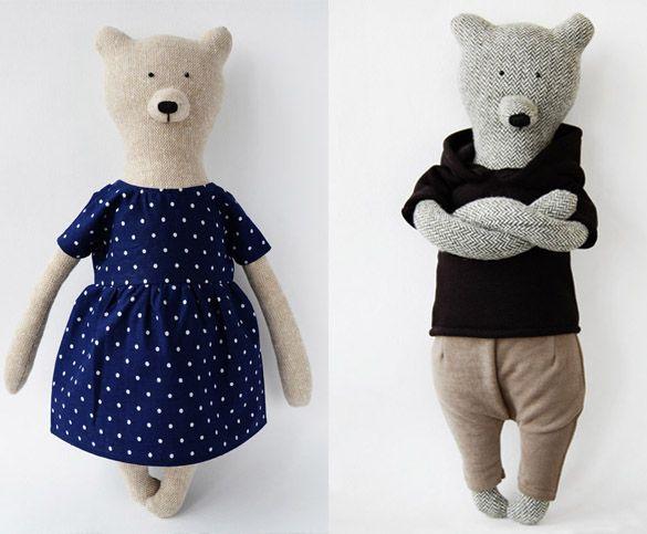Philomena Kloss bears http://knuffelsalacarteblog.blogspot.nl/2015/03/what-do-you-bear-today.html