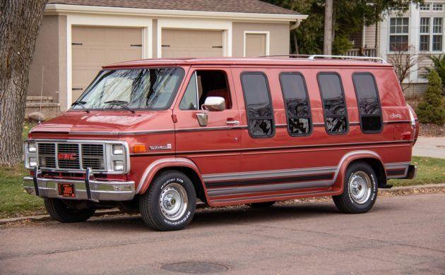Amazing Survivor 1985 Gmc Vandura Gmc Chevrolet Wheels Barn Finds