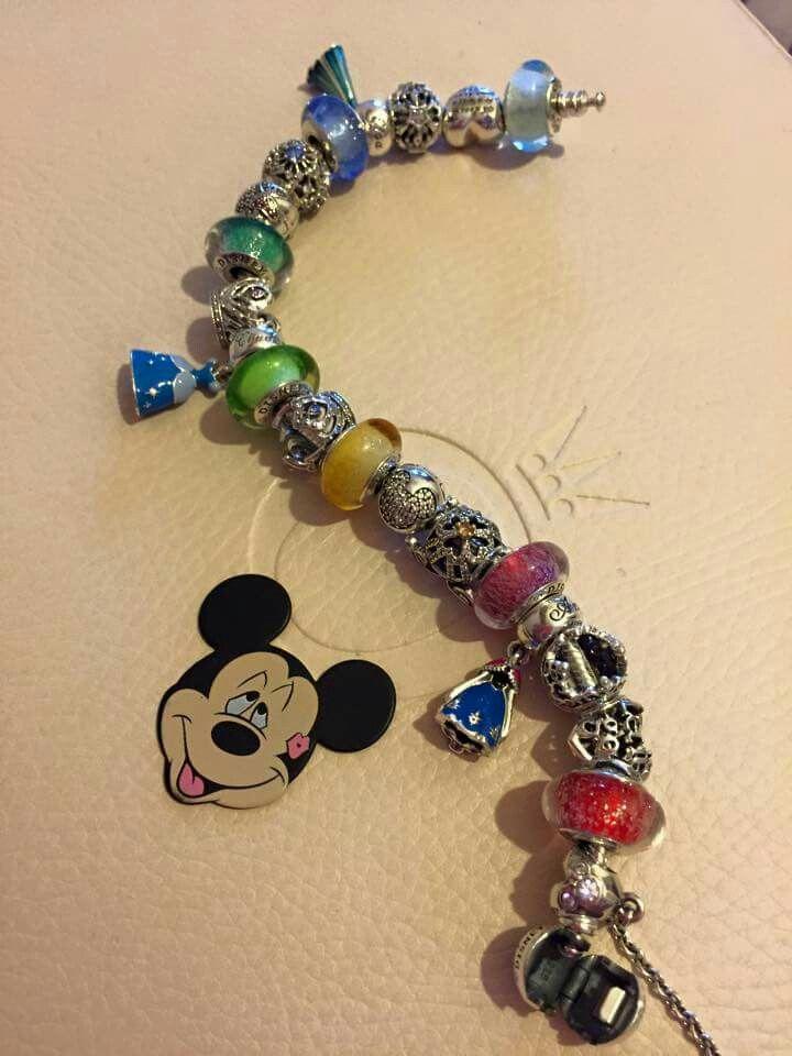 Pandora Bracelet Disney Charms