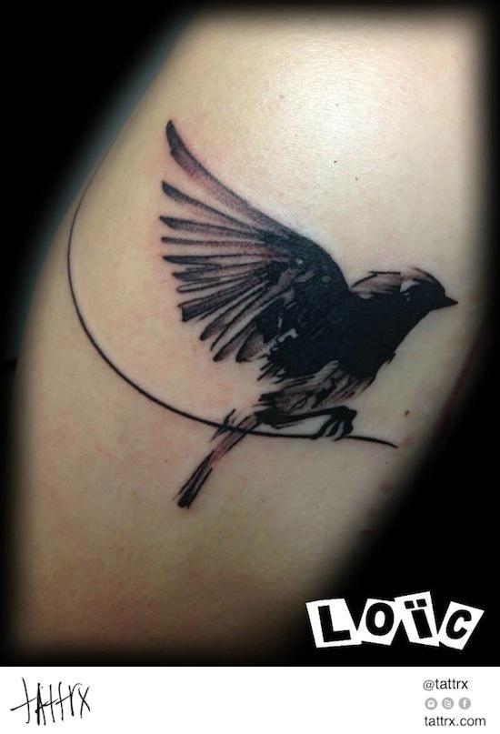 Loic Blindesign Artcore Factory Tattoos - Little Blackbird