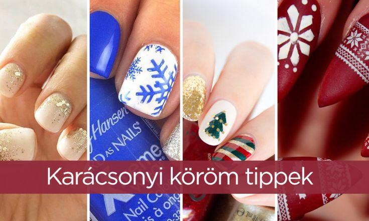 Karácsonyi köröm tippek - Öltöztesd körmeid ünnepi díszbe!Szabó Imre Hair & Beauty