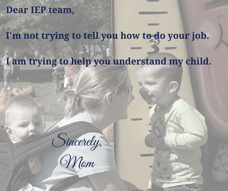 IEP Help! They did not give a real one?