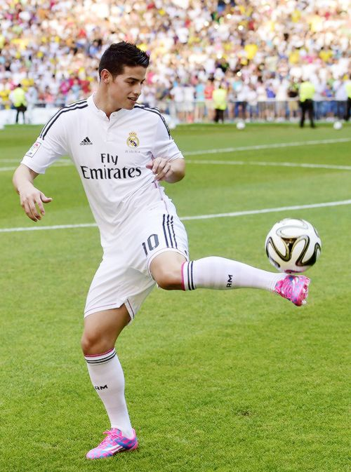 James! Welcome to Madrid!