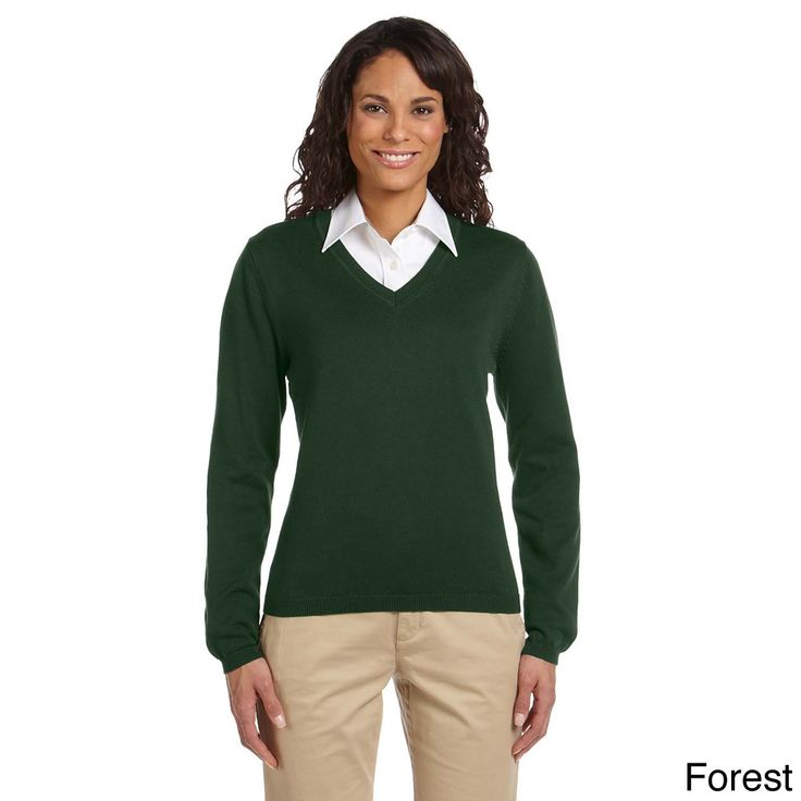 Women's Layered Look V-neck Sweater | Overstock™ Shopping - the green sweater
