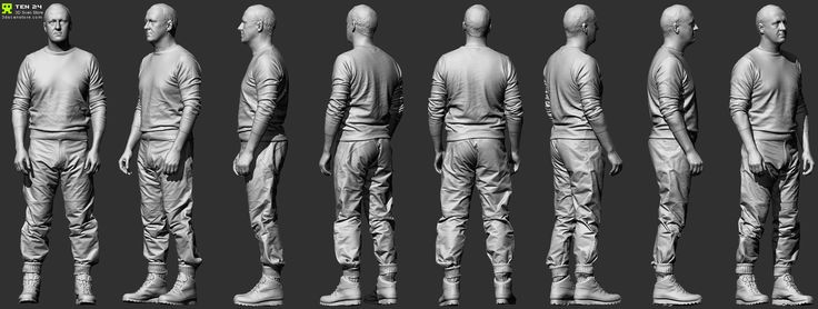 http://www.zbrushcentral.com/showthread.php?173890-Reference-Character-Models/page3