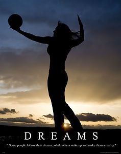 volleyball motivation | Womens Volleyball Motivational Poster Art Volleyball Shoes Shorts ...