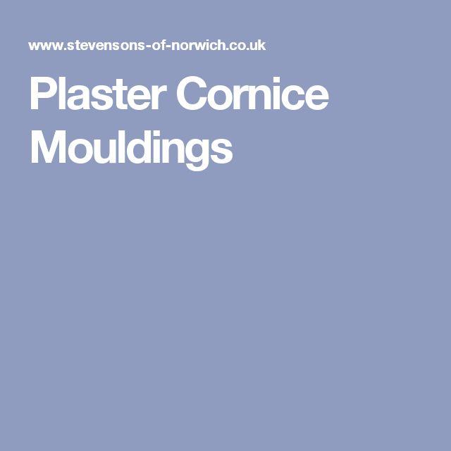 Plaster Cornice Mouldings