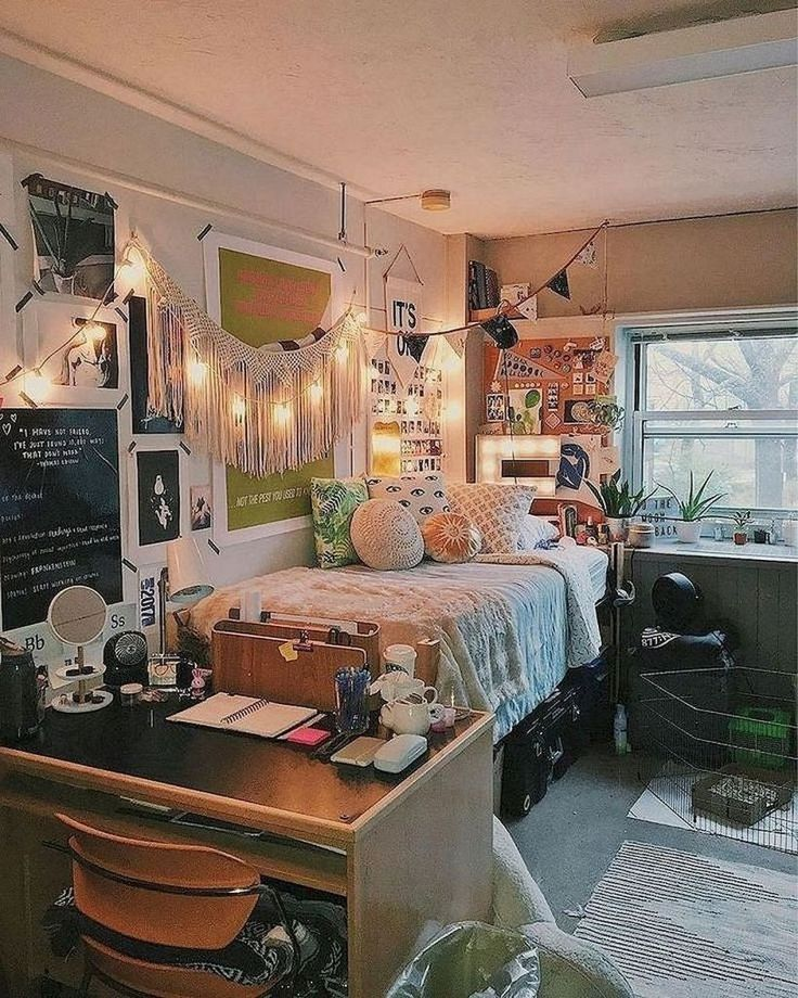 50 Efficient Dorm Room Organization Decor Ideas