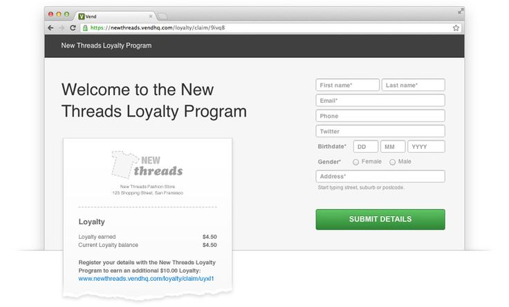 https://www.vendhq.com/loyalty-programsEngage your customers. Every customer.