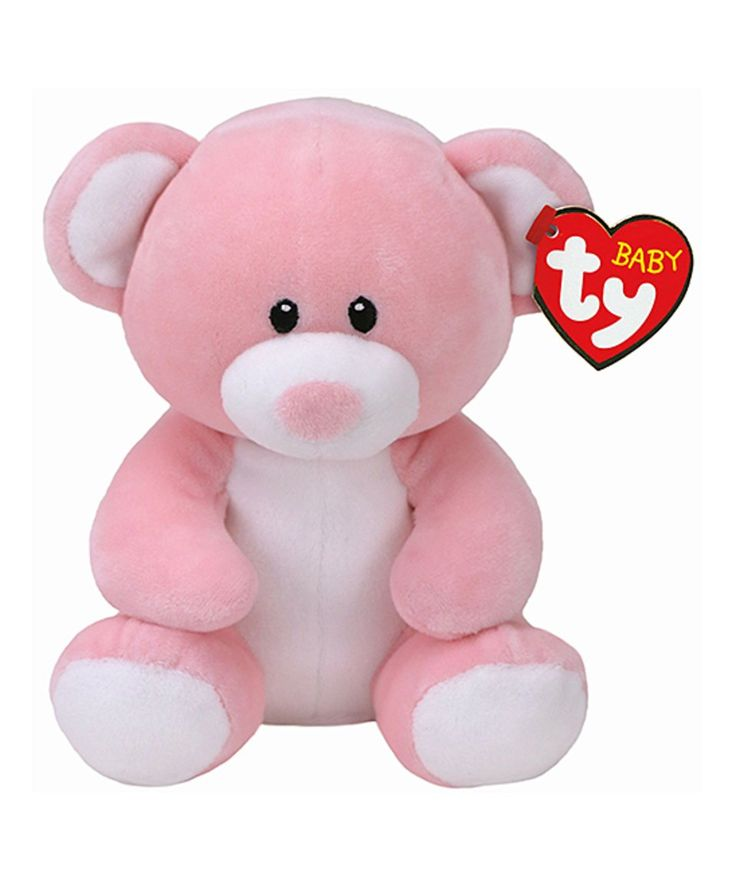 Take a look at this Pink Princess Bear Baby Ty Plush Toy today!