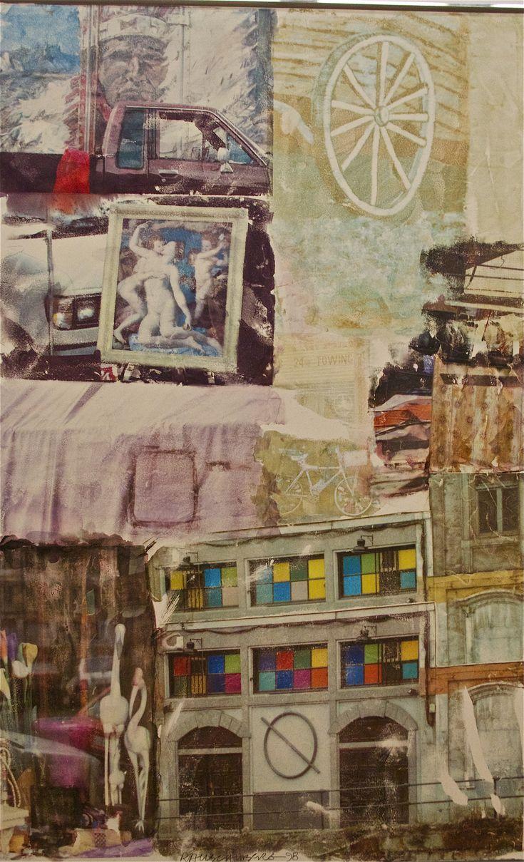 Robert Rauschenberg. Love Hotel, 1969. Peréz Art museum, Miami. Photo: Åse Margrethe Hansen, 2014