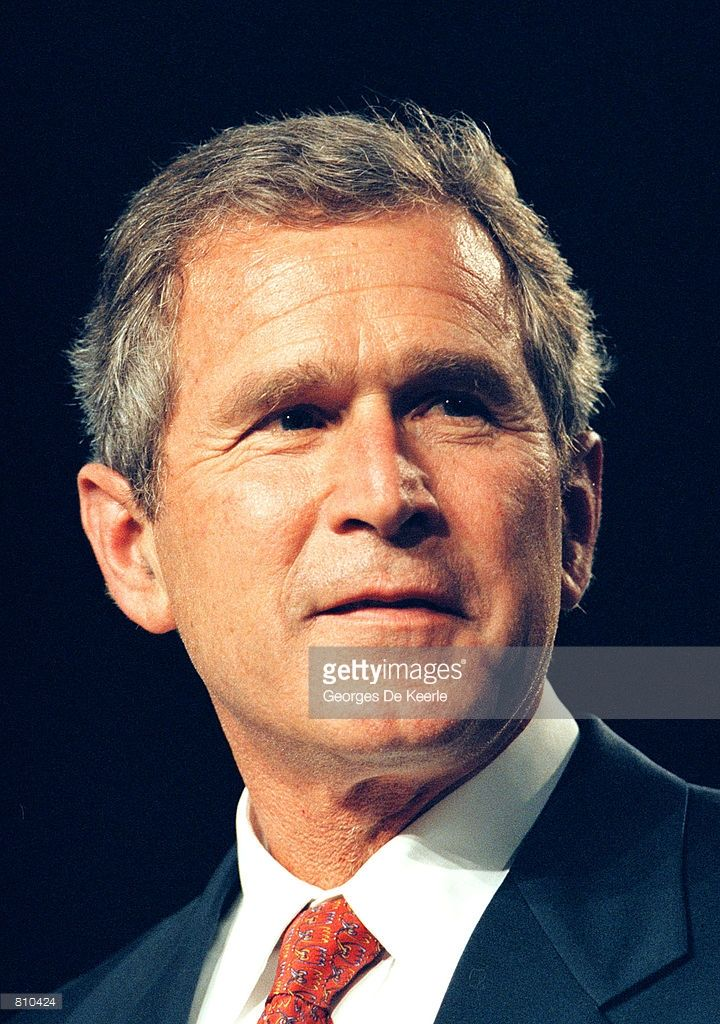 Texas Gov. George W. Bush during a campaign fundraising event June 22, 1999 in Washington, DC. George W. Bush is the frontrunner for the Republican presidential nomination in the Year 2000.