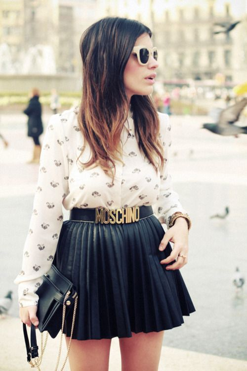 cheap and chic - patterns and pleats