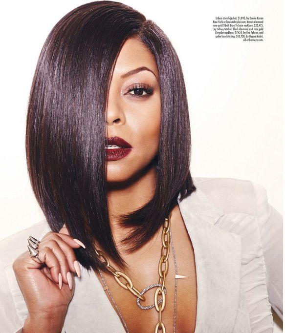 Her hair is a bit too long for my taste but I'm pinning this because Taraji's a bad bitch!! #werk and she can ACT  best ACTOR